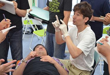 顎関節症テクニックセミナーの風景